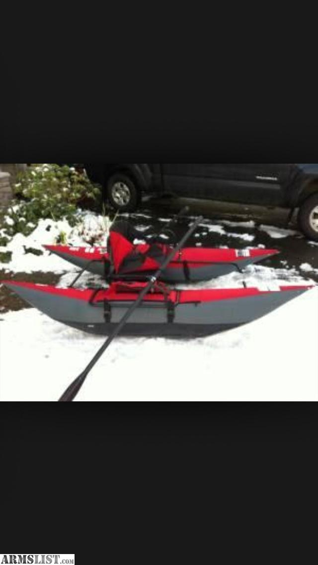Armslist for sale arrow personal pontoon boat for Personal fishing boat