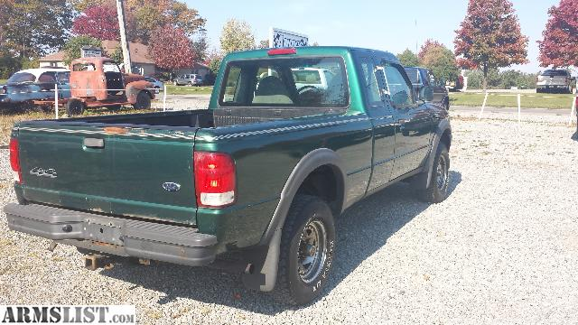 Armslist For Sale 2000 Ford Ranger Extended Cab 4x4 Ready For The Snow