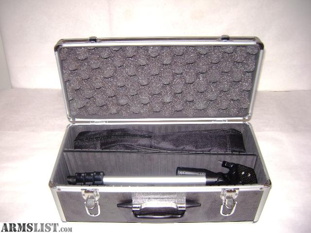 simmons 20 60x60. 20-60x60 scope. tripod and carry case. fully coated optical glass. waterproof, nitrogen purged fogproof. less than a year old barely used simmons 20 60x60 c