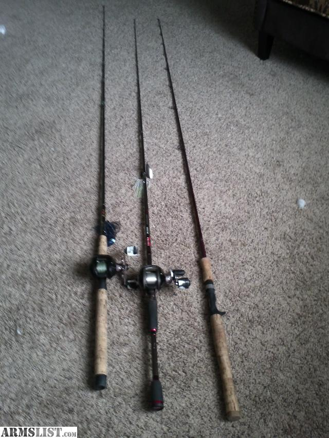 Armslist for sale trade quality fishing rods reels for Fishing rods and reels for sale
