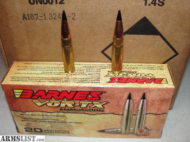 ARMSLIST - For Sale: Barnes VOR-TX 300 AAC Blackout 110GR ...