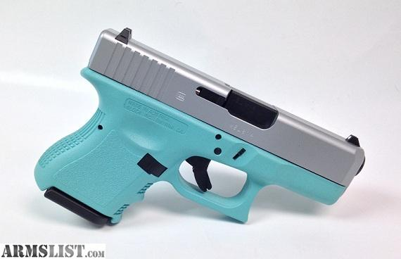 Armslist For Sale Tiffany Blue Glock 26 Gen3 9mm Handgun