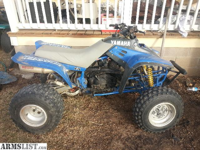 Armslist for sale trade yamaha warrior 350 for Yamaha warrior for sale