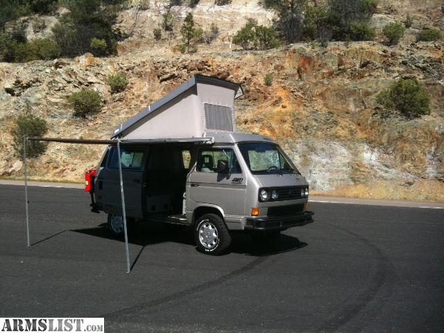 1990 AWD VW SYNCRO VANAGON WESTFALIA POPUP CAMPER With 33 Liter 240hp SVX SUBARU CONVERSION FULL RESTORATION