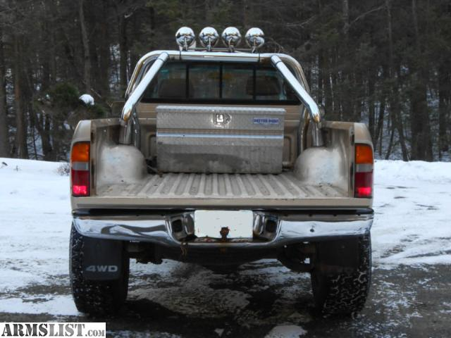Armslist for sale 1998 toyota tacoma 4x4 with brush guard and off with brush guard roll bar lift kit off road lights i am the original owner the truck is equipped with two mounted piaa fog lamps aloadofball Image collections