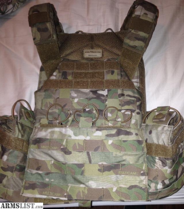 ARMSLIST - For Sale/Trade: T3 Geronimo 2 Plate Carrier with Plates!