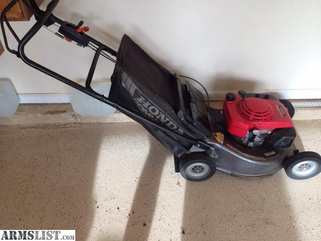 ARMSLIST - For Trade: Trade my Honda Commercial mower or stihl kombi for firearm (s)