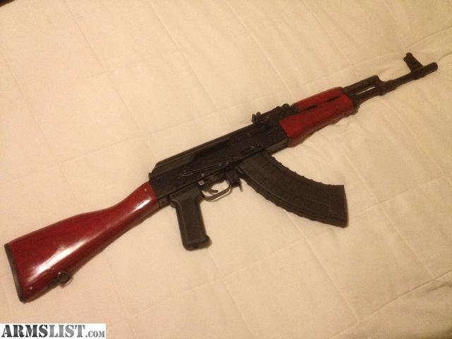 For Sale Trade  Arsenal Saiga AK47 with red wood furniture. ARMSLIST   For Sale Trade  Arsenal Saiga AK47 with red wood furniture