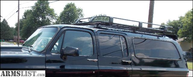 ARB Alloy Roof Rack And Basket + Mounts For Chevy Suburban Old Body Style  Rack Sells For $1100 Mounts Are $200 Asking $700 Cash Or $800 Trade For  Fire Arm ...