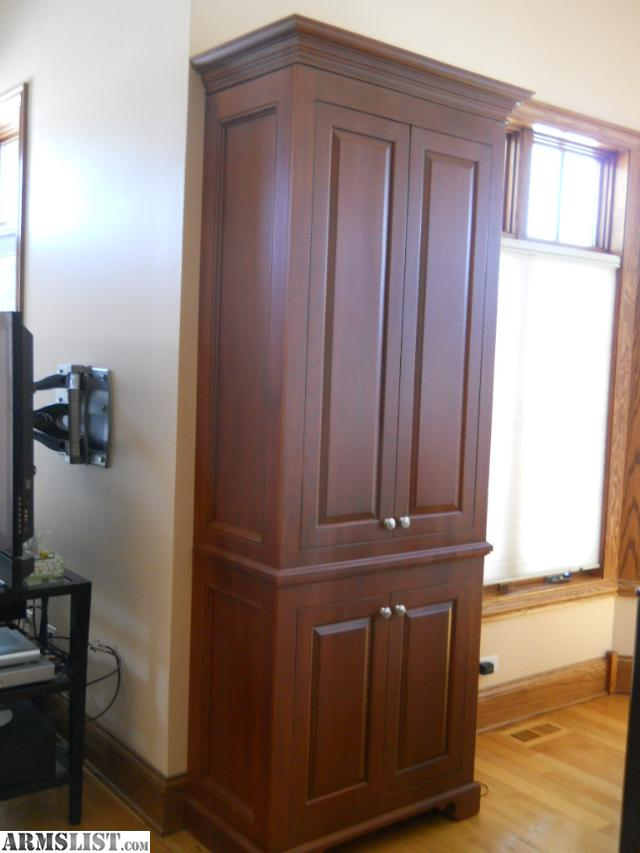 ARMSLIST - For Sale: hidden gun cabinet