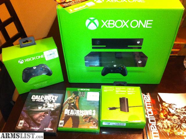 Xbox One Games On Sale : Armslist for sale xbox one extras games