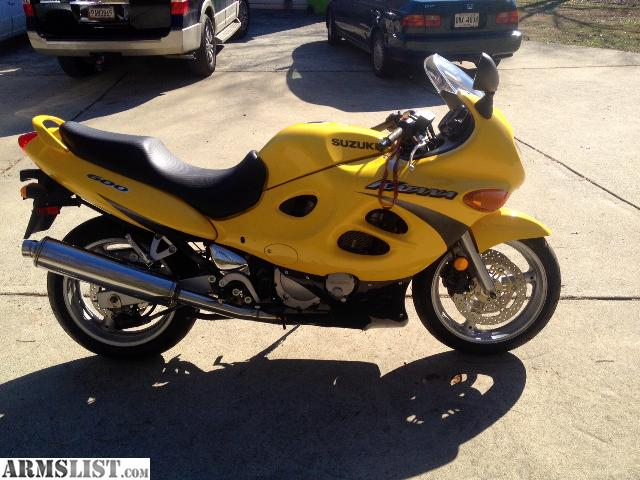 ARMSLIST - For Sale: 2001 Suzuki Katana 600cc Low Miles!