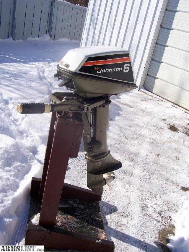 Armslist for sale trade clean johnson 6hp outboard for New johnson boat motors for sale