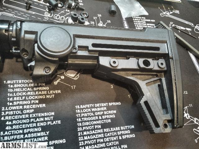 Rock river lower parts kit single stage trigger ar0120 (lpk)