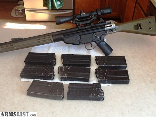 Cetme G3 For Sale: For Sale/Trade: Cetme .308 HK G3 Clone With