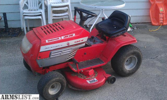 armslist for sale trade riding lawn mower. Black Bedroom Furniture Sets. Home Design Ideas