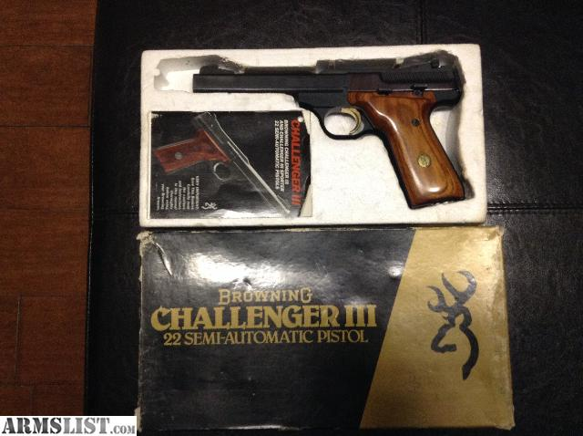 ARMSLIST For Sale Rare Browning Challenger III NEW