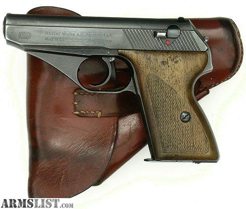 Armslist Want To Buy Mauser Hsc Wwii Nazi 32 Acp Pistol