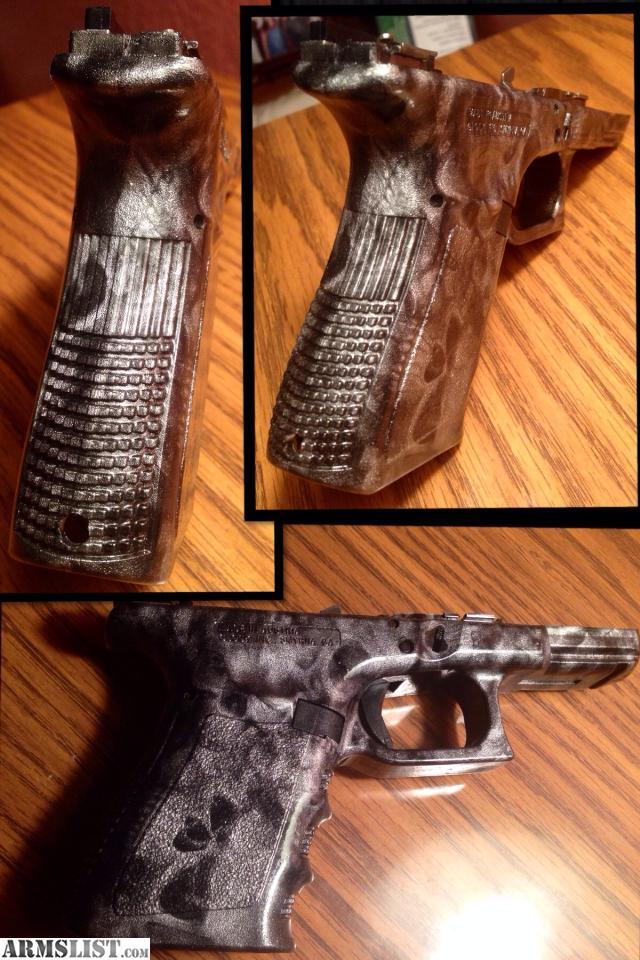 ARMSLIST - For Sale: Custom Skull painted Glock 19/23 Frame