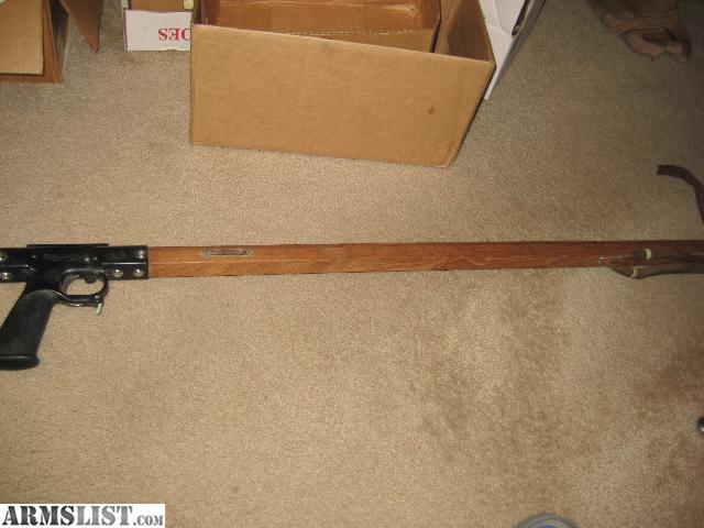 Armslist for sale sea hornet spear gun for fish 42 for Fishing spears for sale