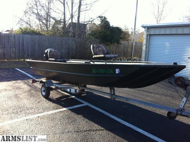ARMSLIST - For Sale: H.D. 16' LOWES JON BOAT - 25HP