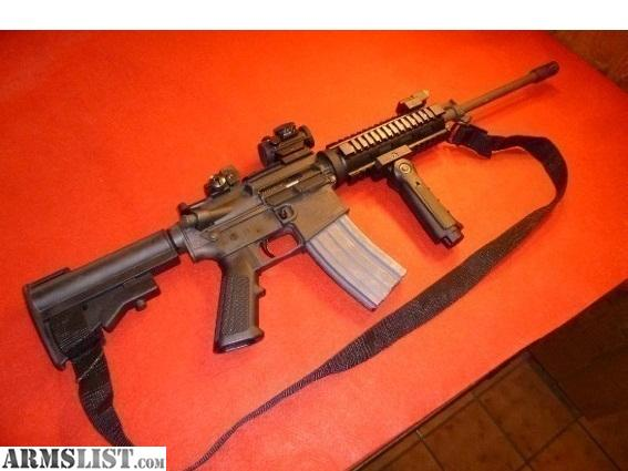 For Sale: Bushmaster AR-15 Semi Automatic Cal