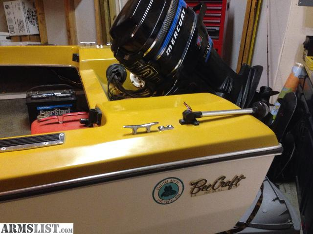 Armslist  Trade  1977 Bee Craft Boat With 50 Hp Merc Outboard