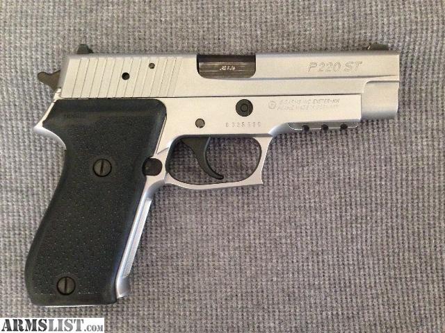 Armslist For Sale Sig Sauer P220st 45acp Stainless