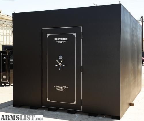 Armslist for sale trade home and business safe rooms for Hidden storm shelter
