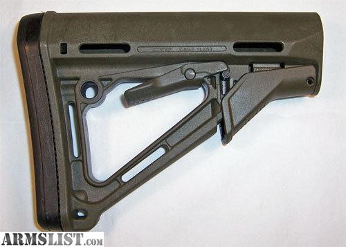armslist for sale magpul ctr carb stk mil spec od green. Black Bedroom Furniture Sets. Home Design Ideas