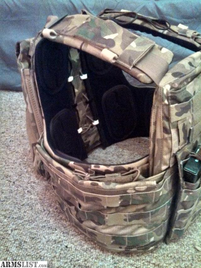 ARMSLIST - For Sale: Crye Precision cage plate carrier Multicam.