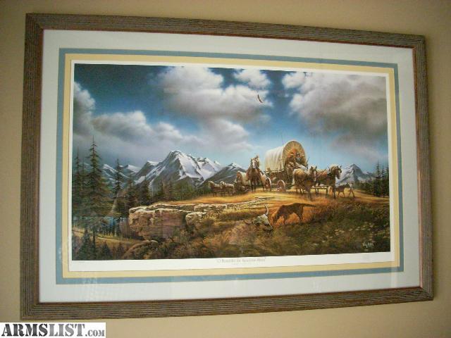 Armslist For Sale Terry Redlin Framed Print