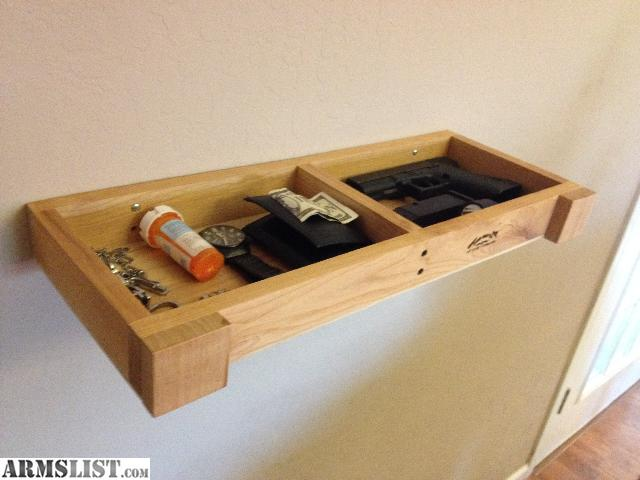 Armslist for sale wall shelf with secret compartment to for How to make a secret compartment in your wall