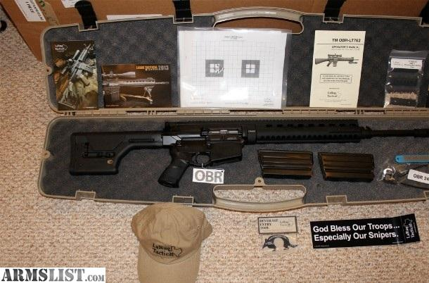 OBR 7.62 Pre-Xtran model early serial # 7xx $2900.00 RIFLE ONLY Geissele  ssa-e trigger. Magpul CTR stock with riser