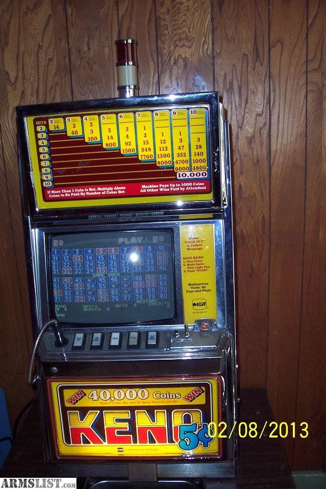 Keno gambling machines for sale red rock casino deals