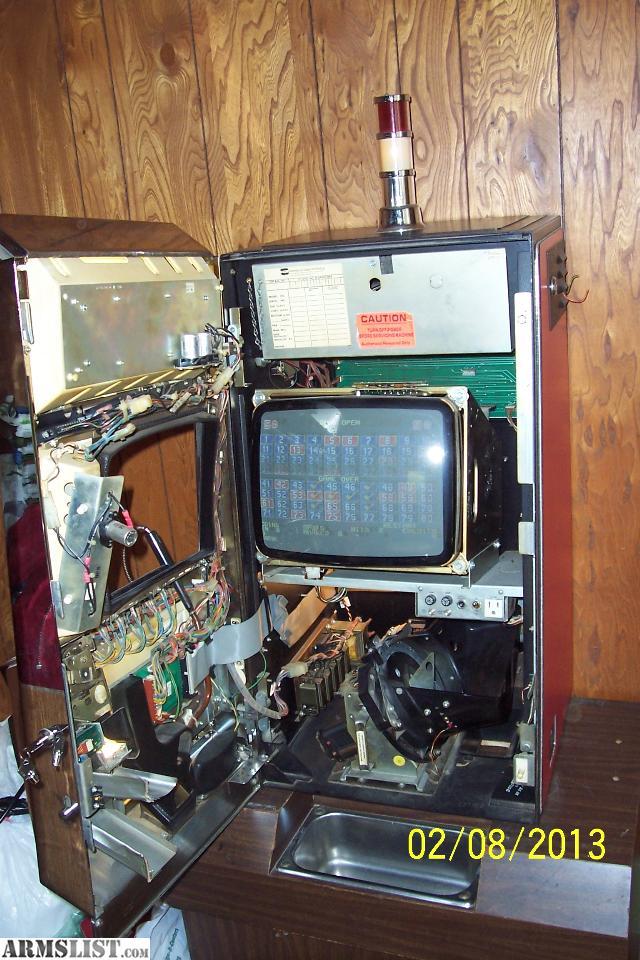 keno slot machine for sale