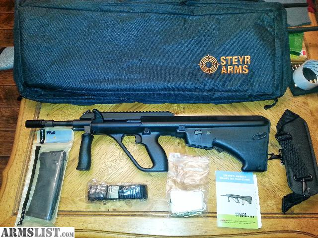Armslist for sale new steyr aug a3 nato stock with steyr case and i have for sale a new steyr aug a3 with the nato stock which accepts ar 15 mags and also steyr case with strap please email me with questions thank you voltagebd Gallery