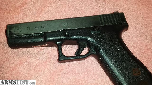 ARMSLIST - For Sale/Trade: ugly glock 17..extras