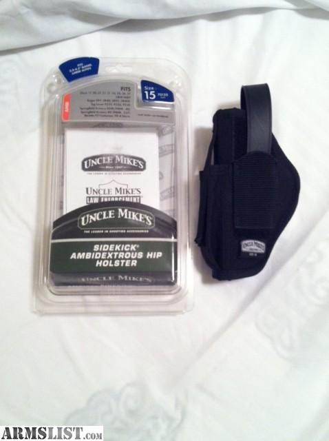 ARMSLIST - For Sale: Uncle Mikes SideKick Size 15