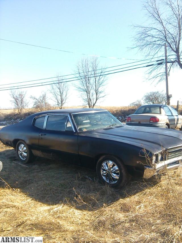 ARMSLIST - For Sale/Trade: 1972 buick skylark muscle car only ...