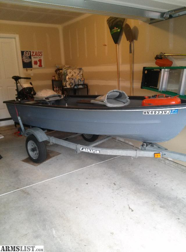 Armslist for sale trade 12 foot fishing boat and trailer for 12 foot fishing boat