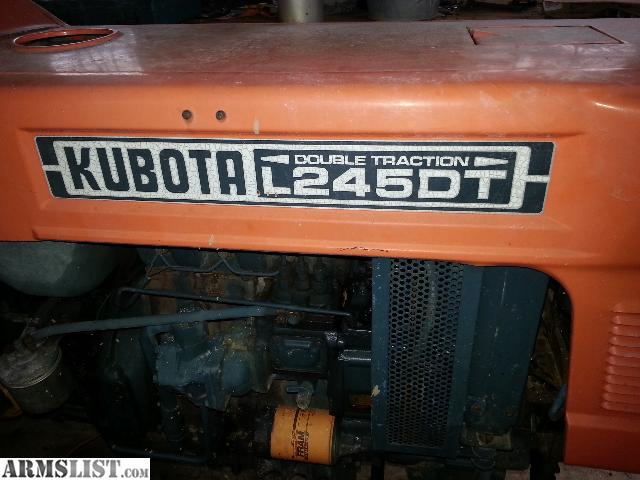 Dt Kubota M5500 Tractor Seats : Armslist for sale kubota l dt tractor