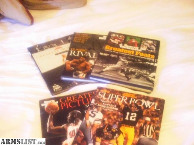 Sports Illustrated Cover Book ~ Armslist for sale sports illustrated hard cover books