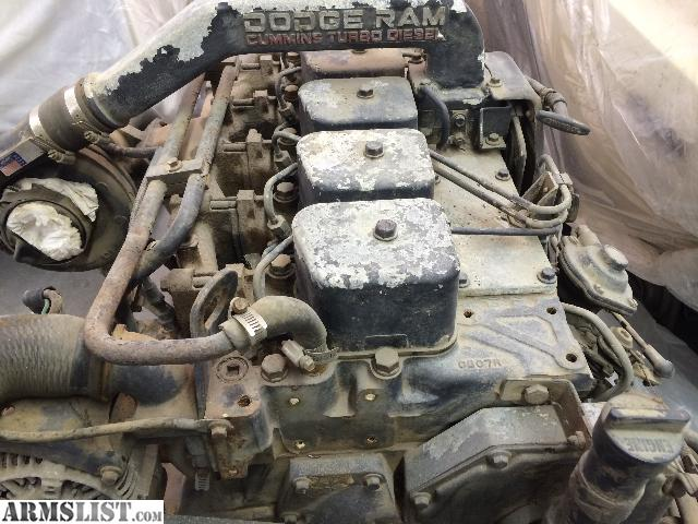 armslist for sale trade cummins 5 9 engine and 4wd auto