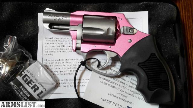 38 Special Revolver Pink