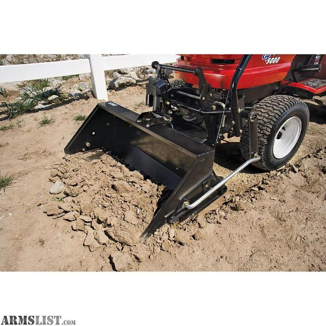Craftsman Yard Tractor Loaders : Armslist for sale trade craftsman front tractor scoop