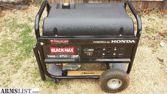 Armslist For Sale Like New Blackmax 8750 Watts