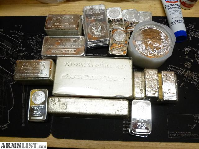 Armslist For Trade Silver Gold Bullion For Rifles