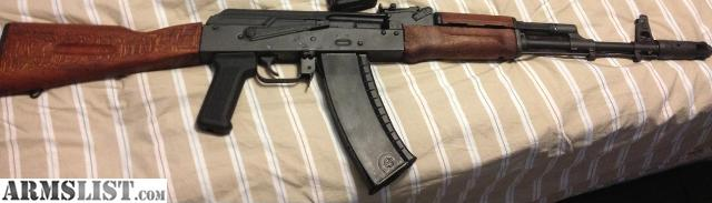 Attrayant I Have A Great AK 74 With Plum Furniture Also Comes With The Original Wood.  Also Have 4 Bulgarian Magazines And Bayonet! Very Accurate And Reliable.  900 Obo
