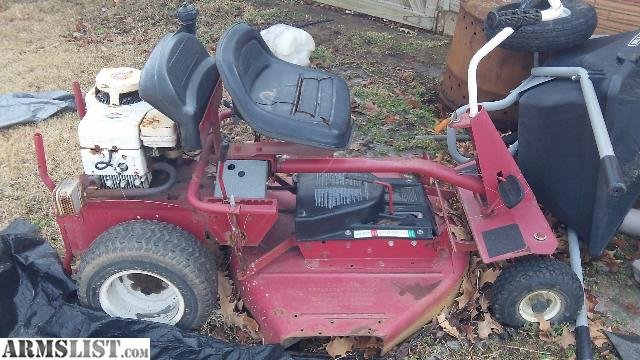 Armslist For Sale Trade Snapper Riding Mower Engine Blown